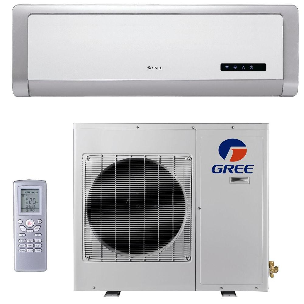 GREE High Efficiency 24,000 BTU Ductless Mini Split Air Conditioner with Heat - 208/230V/60Hz-DISCONTINUED
