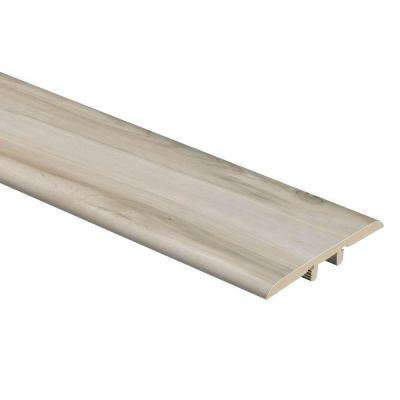 White Maple 5/16 in. Thick x 1-3/4 in. Wide x 72 in. Length Vinyl T-Molding