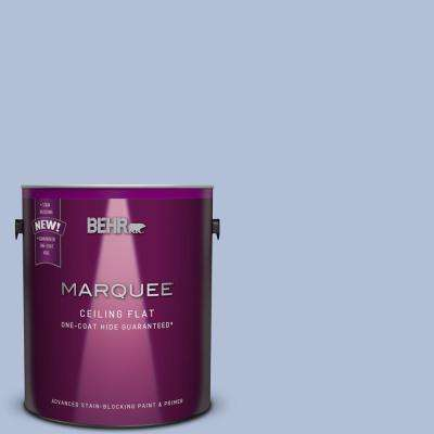 1 gal. #MQ5-45 Tinted to Movie Magic One-Coat Hide Flat Interior Ceiling Paint and Primer in One
