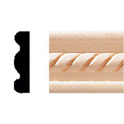 1/4 in. x 1 in. x 8 ft. Hardwood Panel Moulding