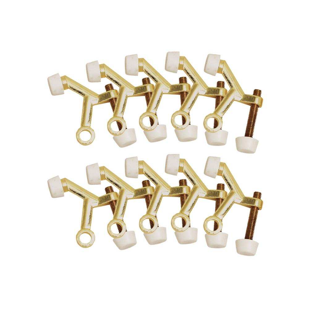 2-1/8 in. x 1-3/4 in. Polished Brass Standard Hinge Pin Door