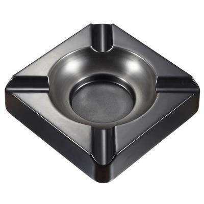 Heavyweight Gunmetal Cigar Ashtray