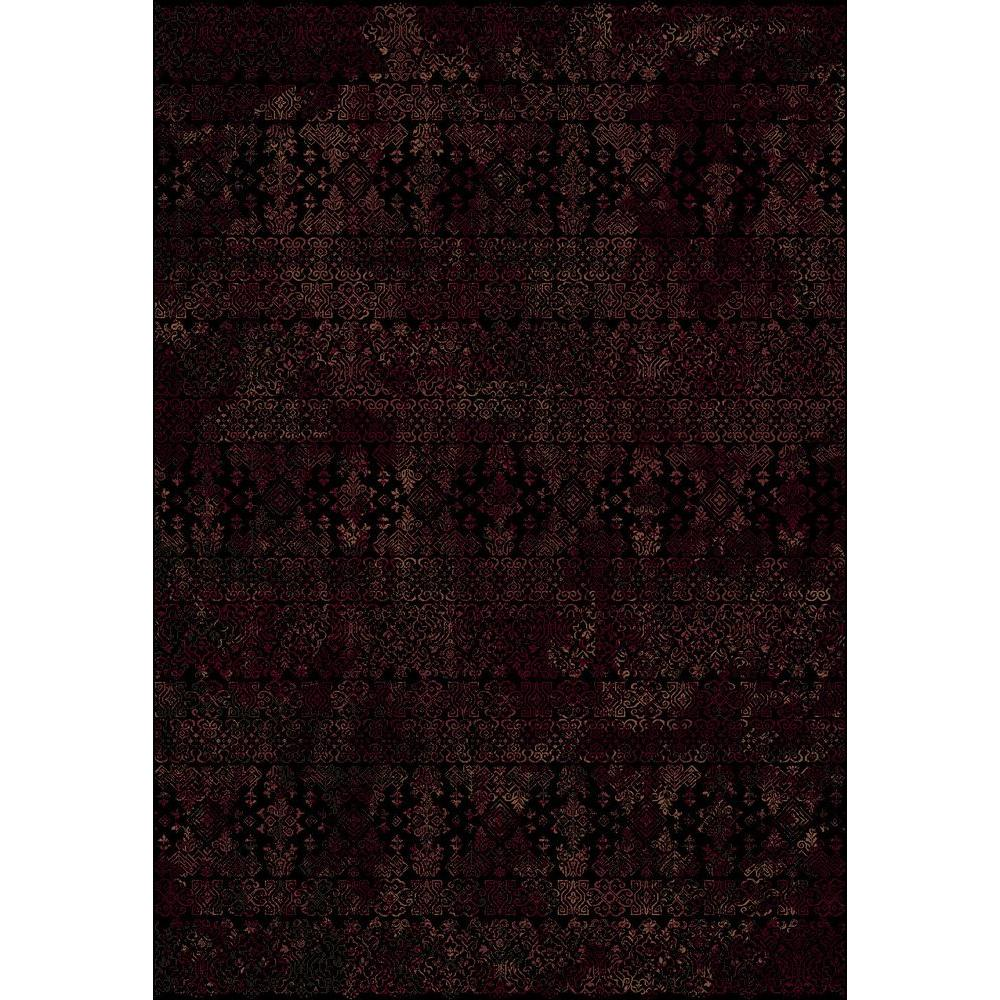 Malone Red/Black 5 ft. 3 in. x 7 ft. 7 in.