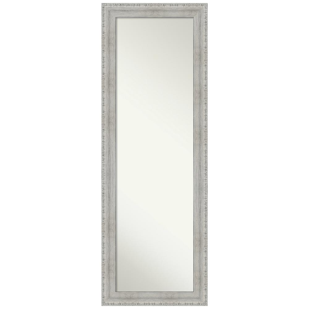 Amanti Art Rustic White Wash 18.38 in. x 52.38 in. On the Door Mirror was $281.0 now $164.94 (41.0% off)