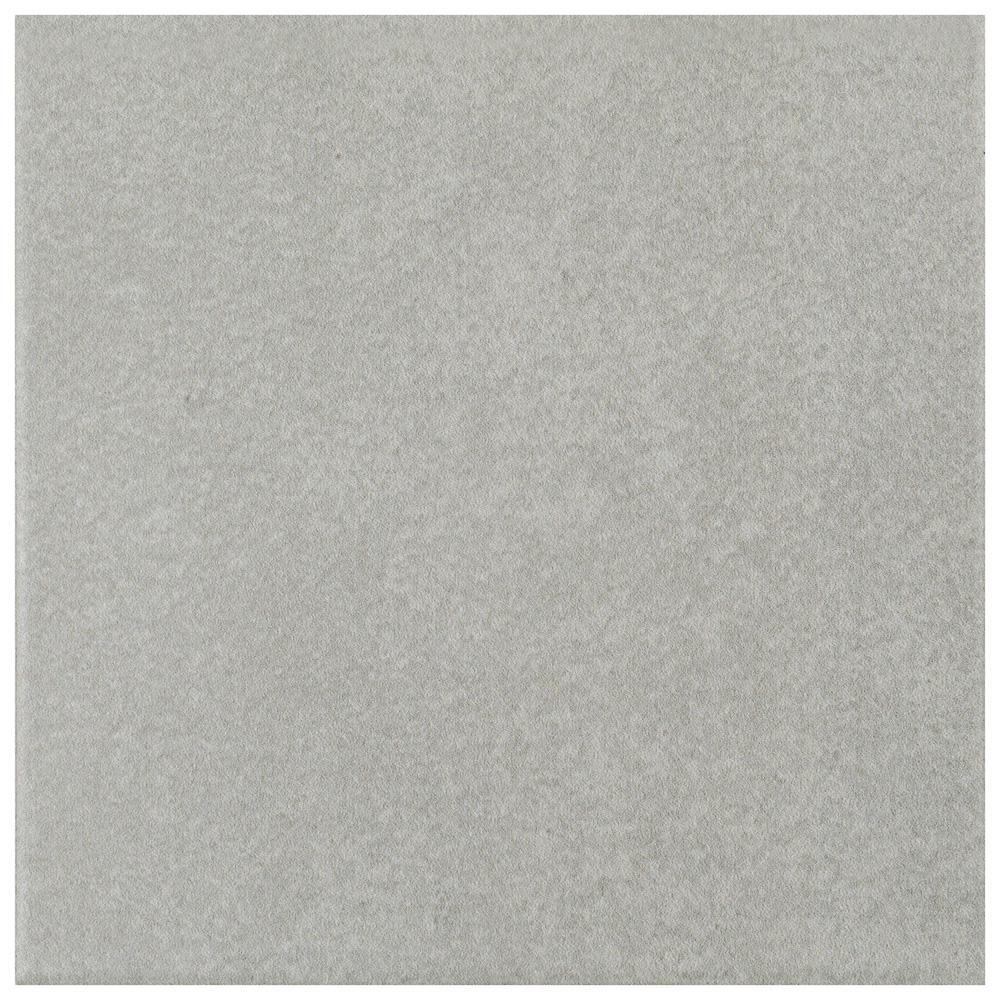 Merola Tile Twenties Grey 7 34 In X 7 34 In Ceramic Floor And