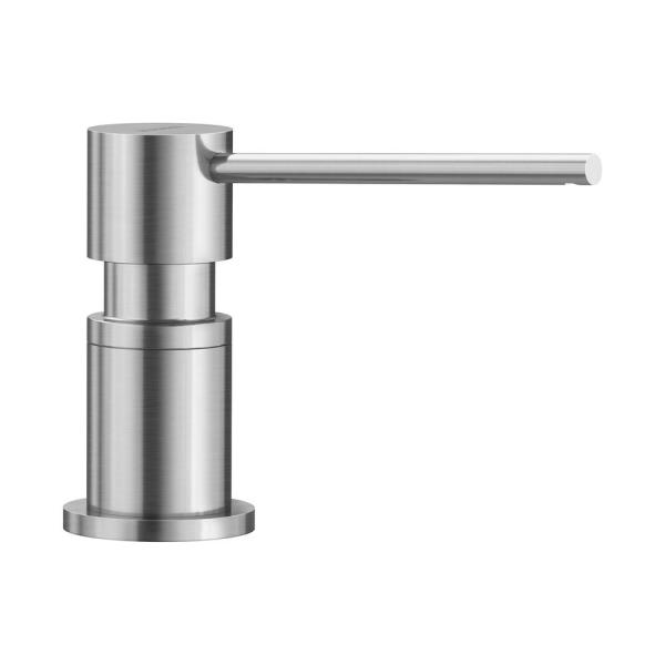 Lato Deck-Mounted Soap and Lotion Dispenser in Stainless