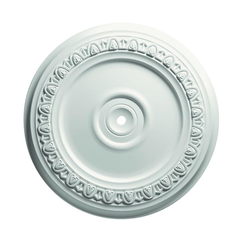 Focal Point 24 in. Egg and Dart Ceiling Medallion