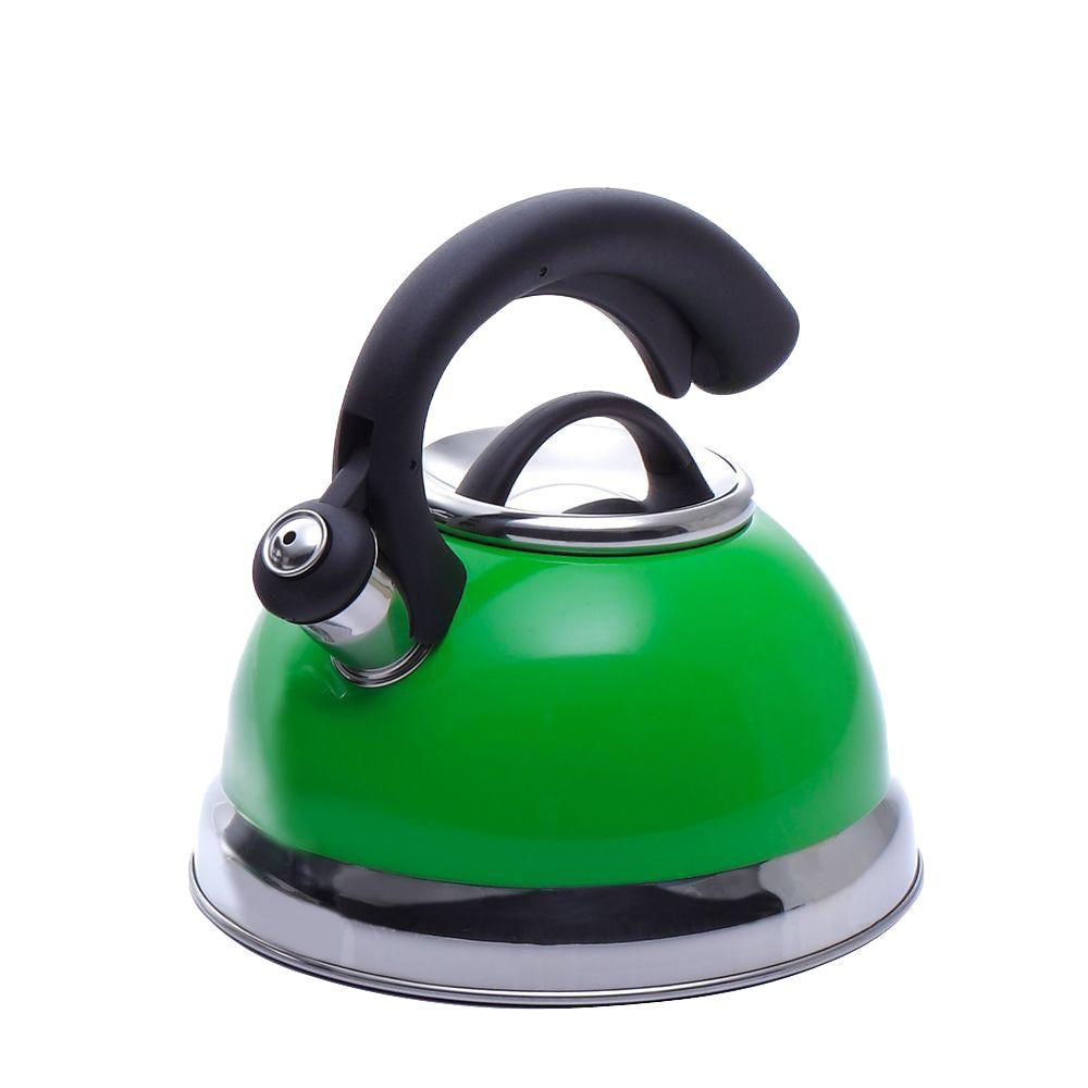 Symphony 10.4-Cup Stovetop Tea Kettle in Green
