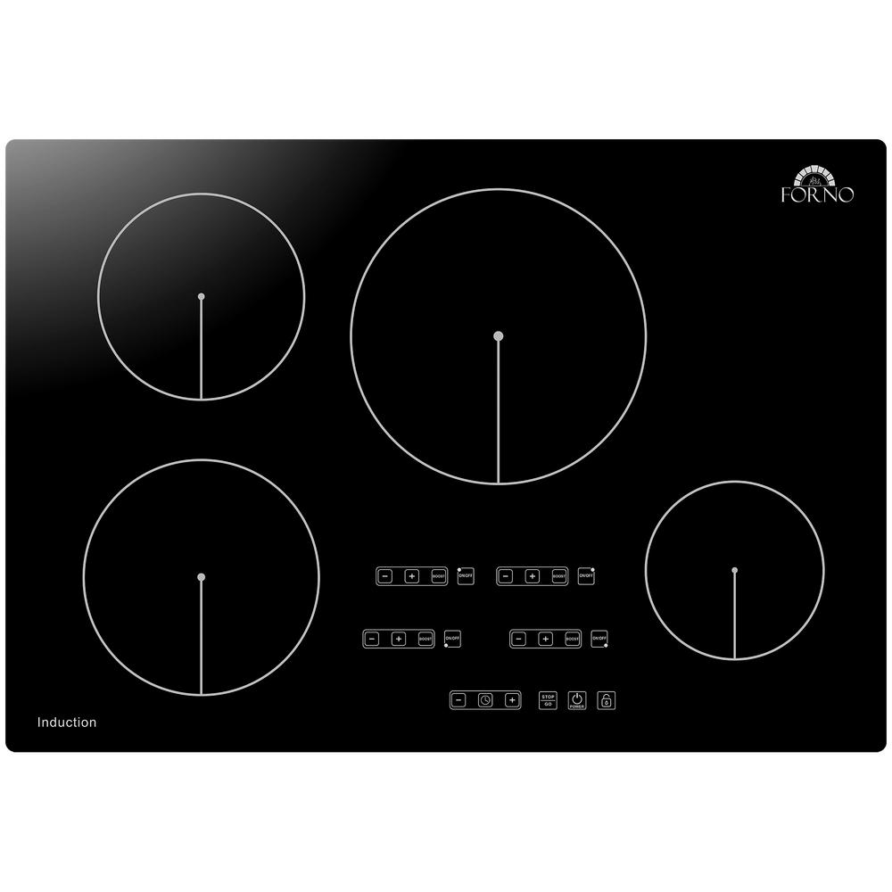 Induction Cooktop In Black With 4 Elements