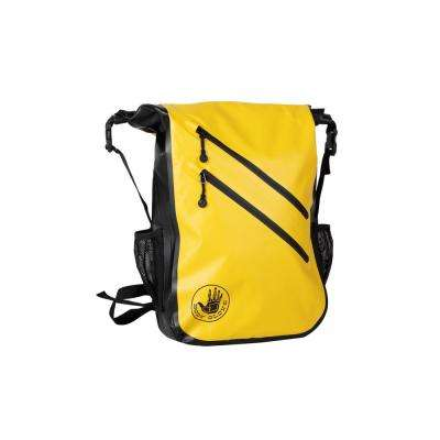 Seaside Waterproof 5 in. Yellow Floatable Backpack