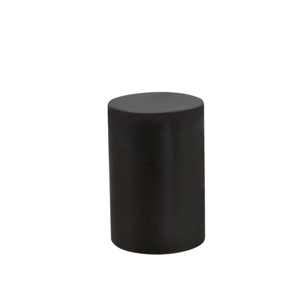 1-1/4 in. Oil Rubbed Bronze Steel Lamp Finial (1-Pack)