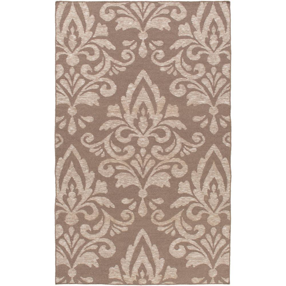 Vale Taupe 5 ft. x 7 ft. 6 in. Indoor Area