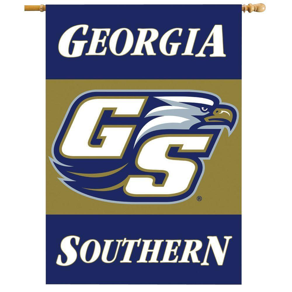 NCAA 28 in. x 40 in. Georgia Southern 2-Sided Banner with