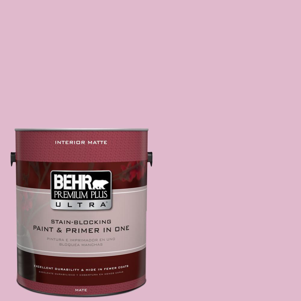 1 gal. #M130-3 Wild Geranium Matte Interior Paint