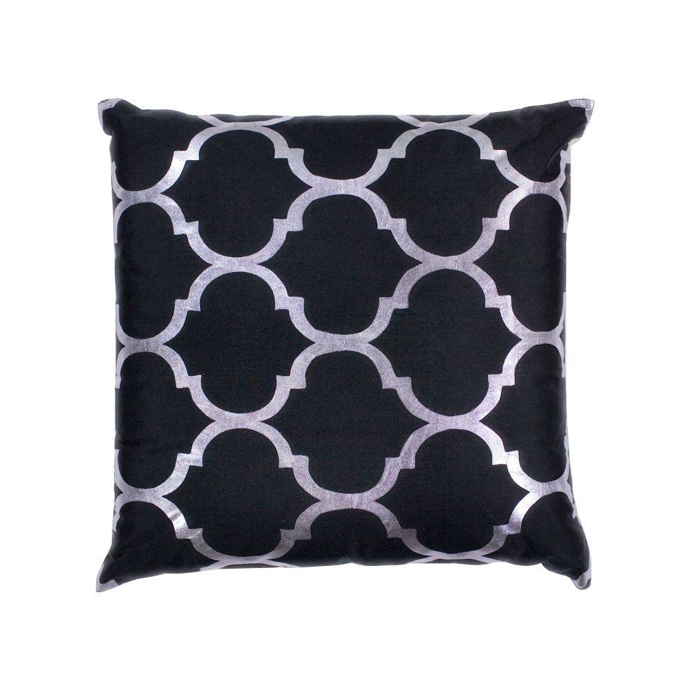 Sabrina Black Decorative Pillow