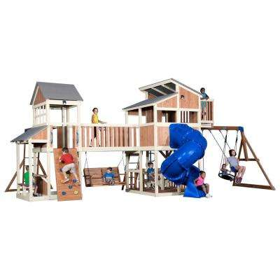 Skyline Retreat All Cedar Playset