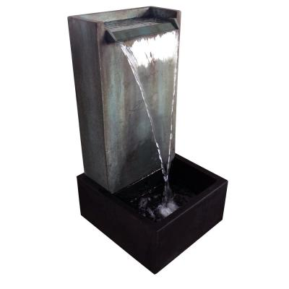 Burbank Fiberglass Concrete Fountain