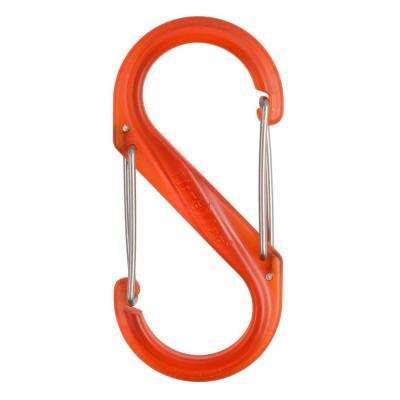 #4 Orange Plastic S-Biner