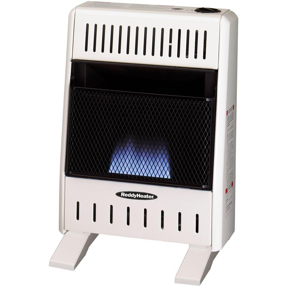 Reddy Heater 10,000 BTU Blue Flame Dual-Fuel Wall Heater,...