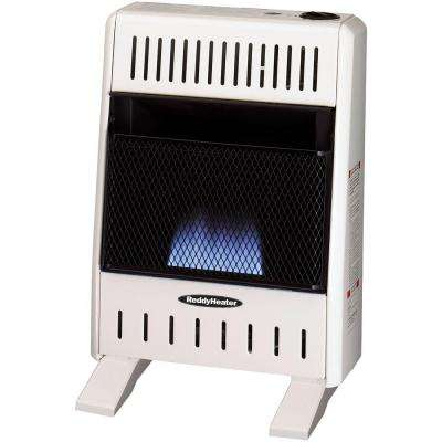 10,000 BTU Blue Flame Dual-Fuel Wall Heater