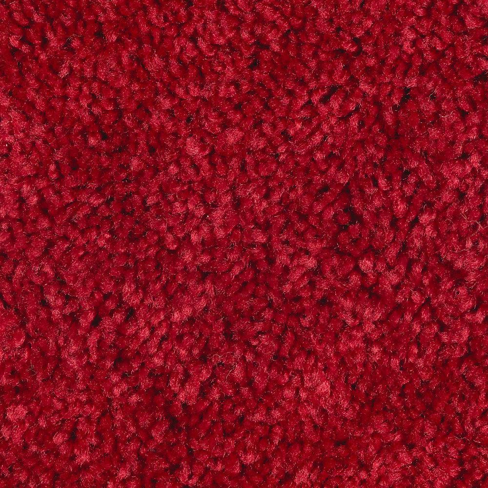 Bel Ridge - Color Candy Apple Texture 12 ft. Carpet