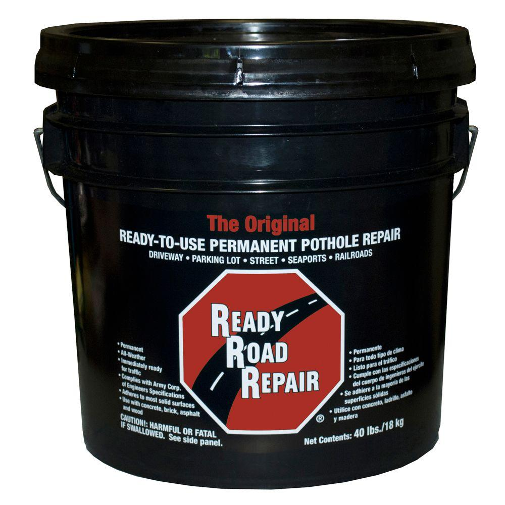 Gardner 40 Lbs Ready Road Repair Pothole Patch 6431 9 27 The Home Depot