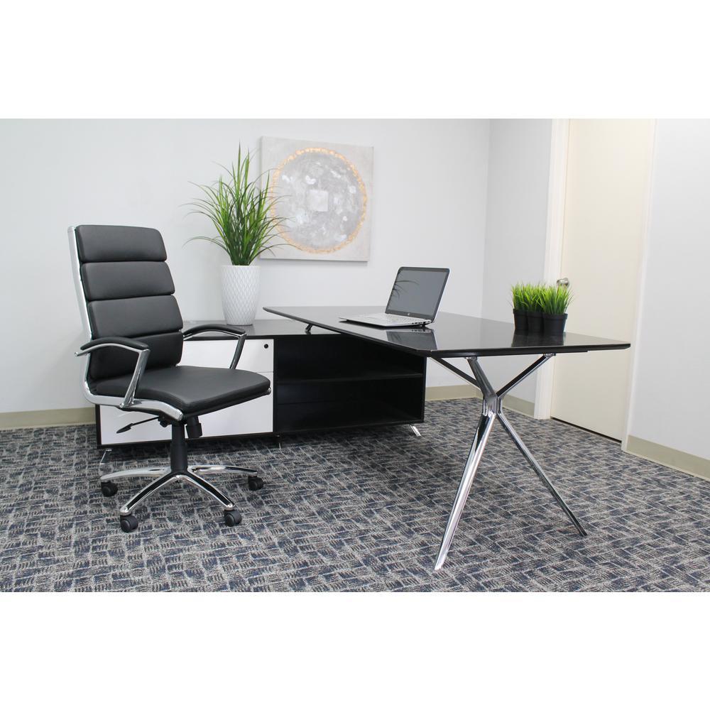 Black CaressoftPlus Chair