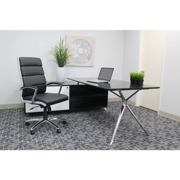 Boss Black CaressoftPlus Chair