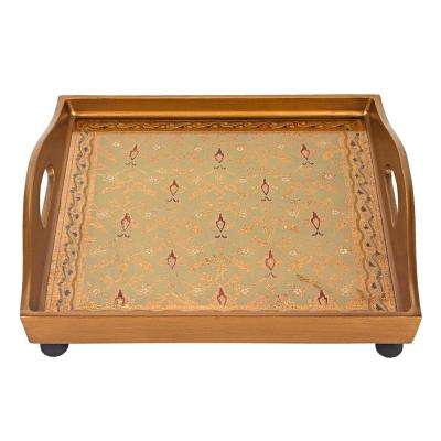 12 in. Antigua Sand Square Tray