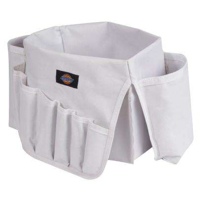 22-Pocket Paint Can Organizer, White