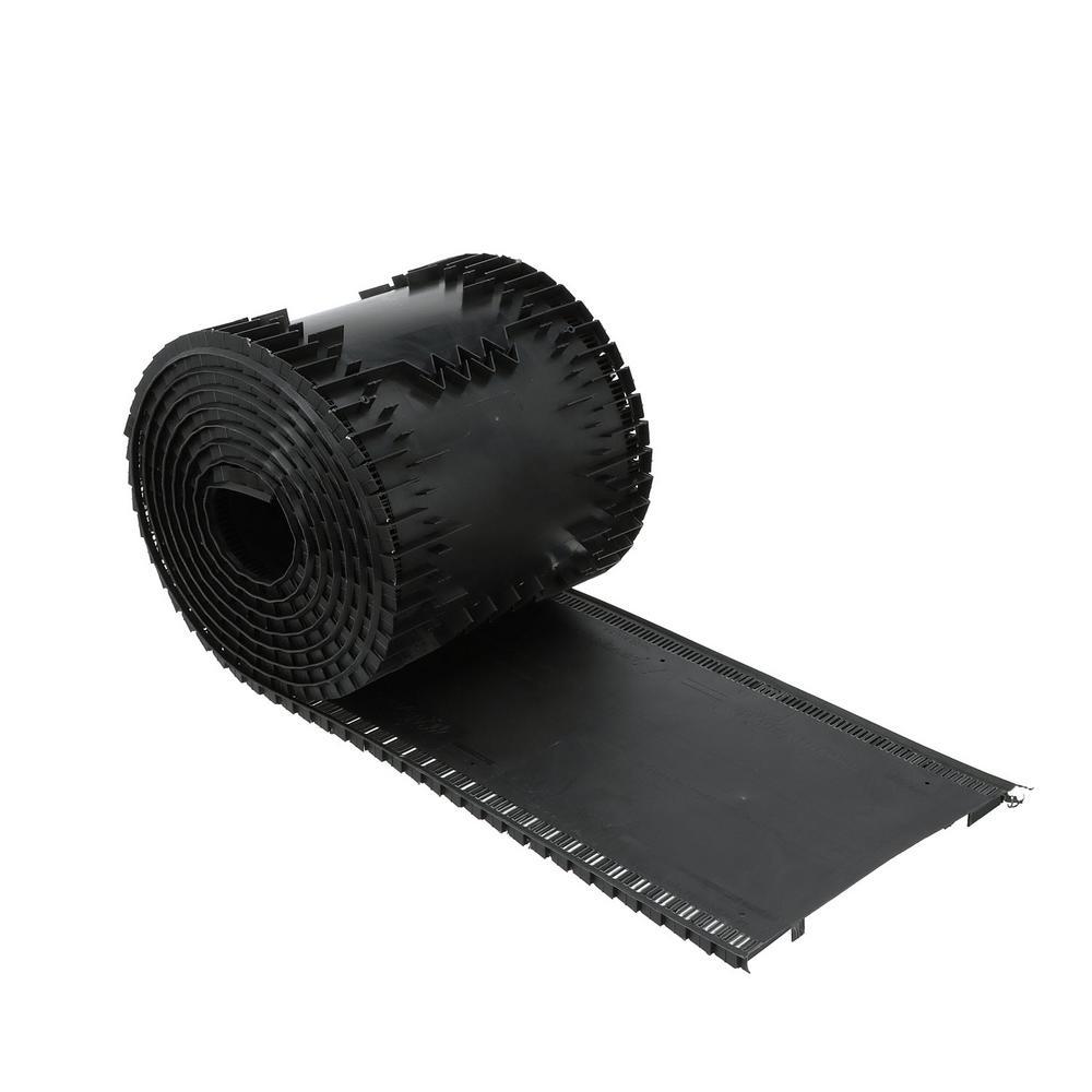 VenturiVent 20 ft. Roll Ridge Vent in Black