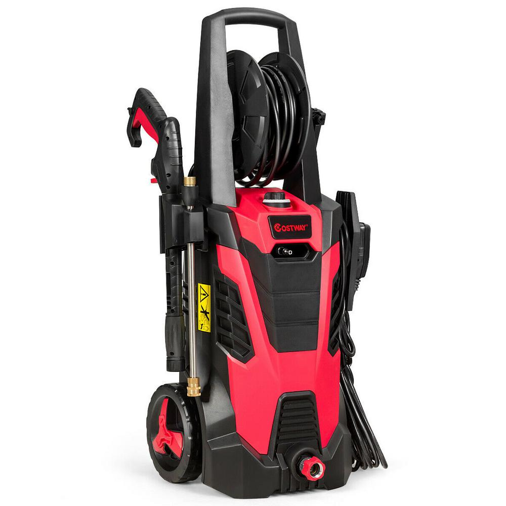 Costway 3500 Psi 2 1 Gpm Cold Water Gas Pressure Washer With 5 Nozzles Ep24606us The Home Depot