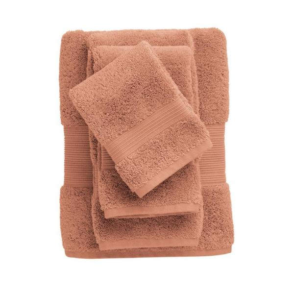 The Company Store Legends Regal Egyptian Cotton Fingertip Towel in Sandstone
