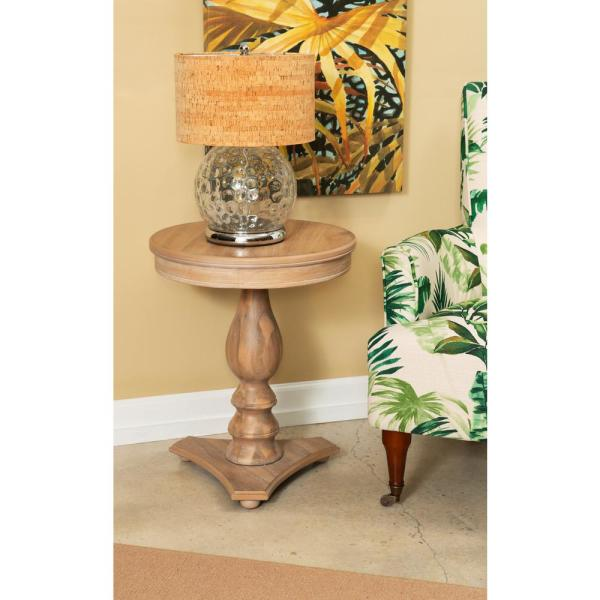 Cati Natural Accent Side Table