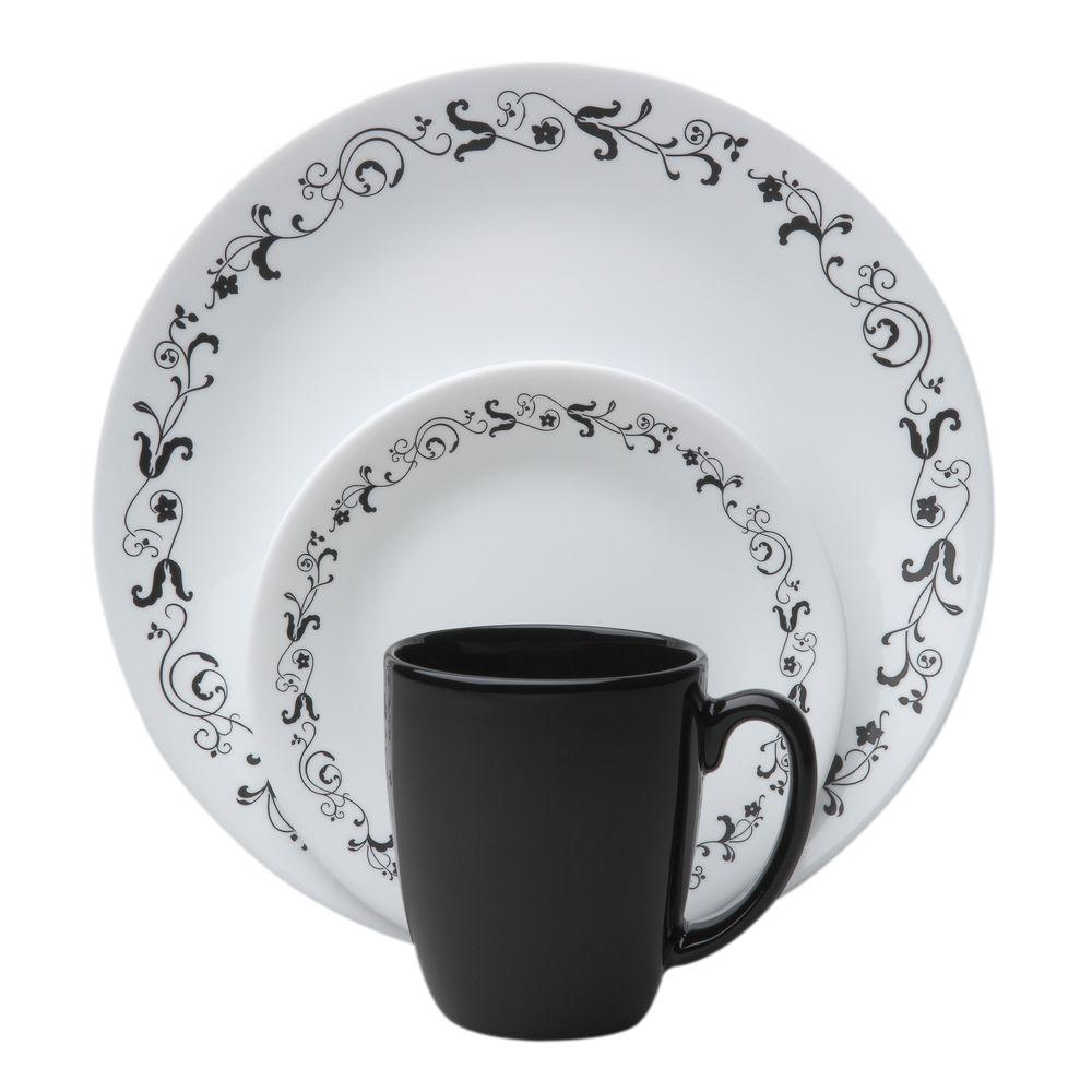 Garden Getaway 16-Piece Vitrelle Dinnerware Set White  sc 1 st  Nextag & Corelle 32 piece dinnerware set | Dinnerware Sets | Compare Prices ...