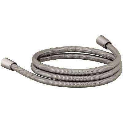 Awaken 72 in. Ribbon Hose in Brushed Nickel
