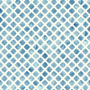 York Wallcoverings Watercolors Artisan Tile Wallpaper by York Wallcoverings