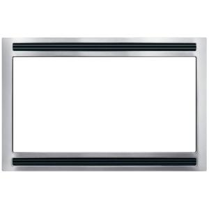 Frigidaire 27 inch Trim Kit for Built-In Microwave Oven in Stainless Steel by Frigidaire