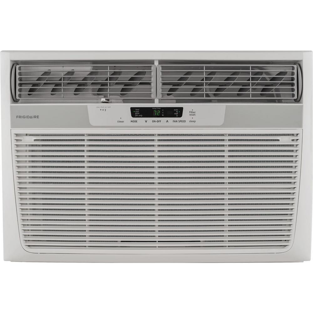 18,500 BTU 230-Volt Window Air Conditioner with Heat and Remote