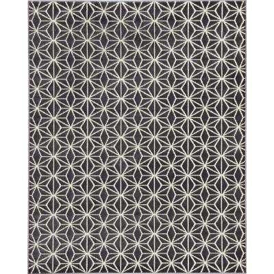 Abbott Grey 8 ft. x 10 ft. Area Rug