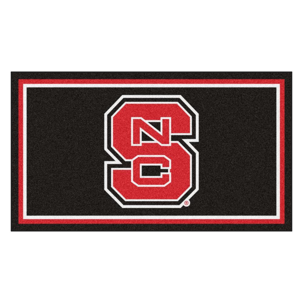 NCAA North Carolina State University 3 ft. x 5 ft. Ultra Plush Area Rug