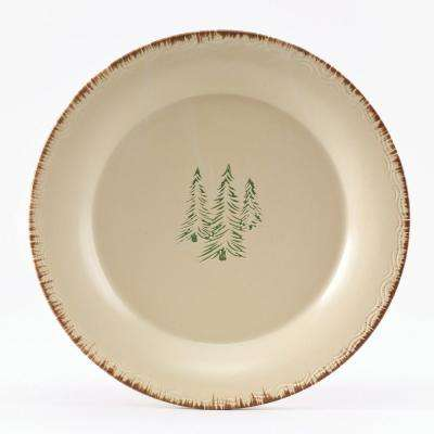 Rustic Retreat Tan Dinner Plate (Set of 4)