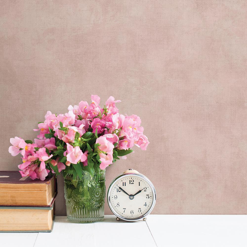 Chesapeake Crawley Rose (Pink) Texture Wallpaper