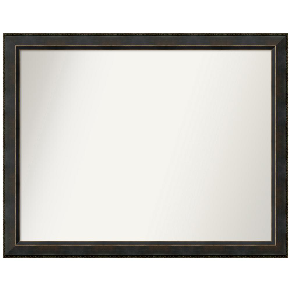 Amanti Art Choose your Custom Size 42.38 in. x 33.38 in. Signore Bronze Wood Decorative Wall Mirror was $518.09 now $269.92 (48.0% off)