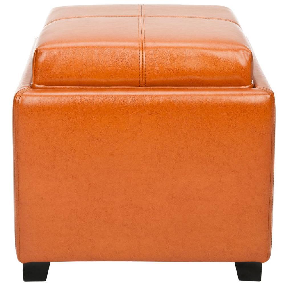 safavieh jean saddle storage ottoman