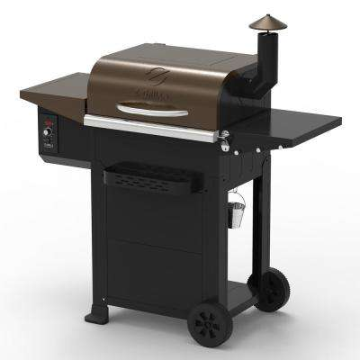 Z GRILLS Wood Pellet Grill and Smoker 6-in-1 Outdoor BBQ 2020 - Bronze