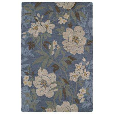 Khazana Kauai Azure 5 ft. x 7 ft. 9 in. Area Rug