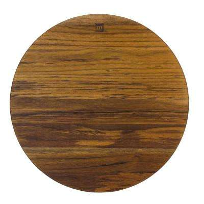 Architec Teak-Edge Grain Round Chop Block