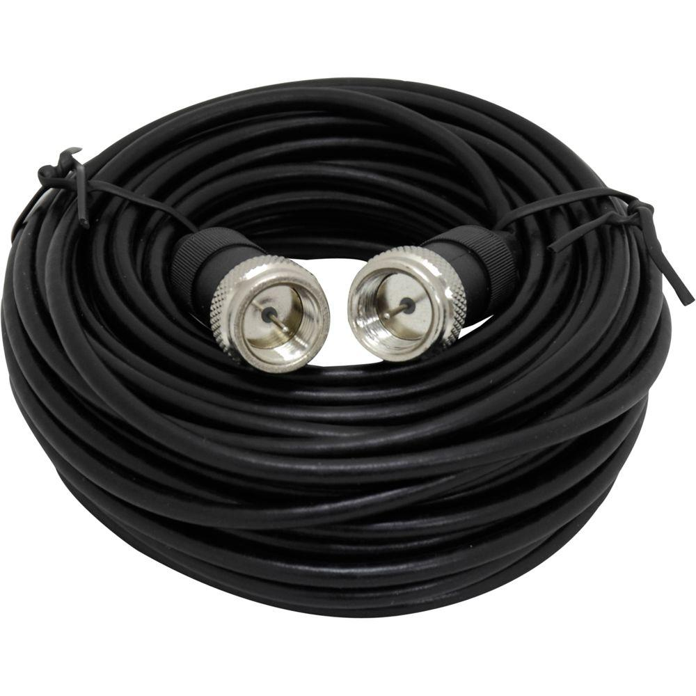 GE 25 ft. Video Cable - Black-DISCONTINUED