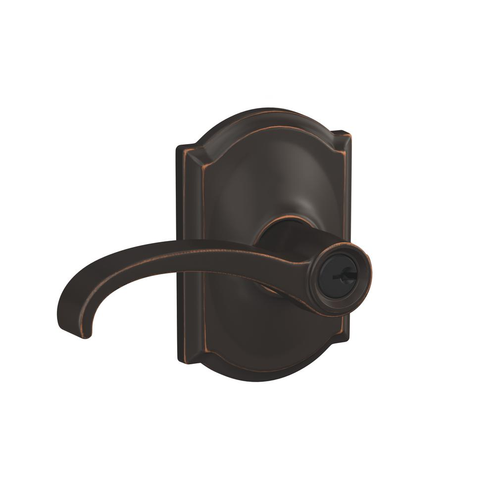 Schlage custom whitney aged bronze camelot trim combined interior schlage custom whitney aged bronze camelot trim combined interior door lever planetlyrics Image collections